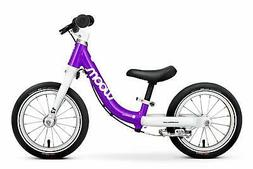 "woom 1 Balance Bike 12"", Ages 18 Months to 3.5 Years, Purp"