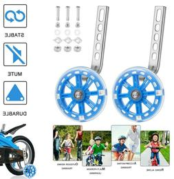 1 pair kids adjustable training side wheels