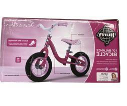 Huffy 10 inch Sea Star Girl's Balance Bike Kids PINK Bicycle