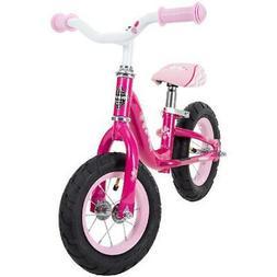 Huffy 10-inch Sea Star Girls Balance Bike for Kids, Pink