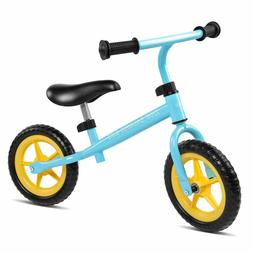 "10"" Kids Balance Bike Walking Bicycle No Pedal Toddler Push"