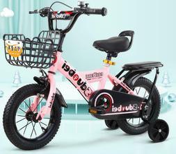 "12""14""16""18"" Kids Bike Bicycle Boys Girls with Training Whee"