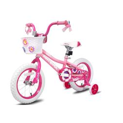 JOYSTAR Kids Bike for Girls Toddler Bicycle with Trainning W