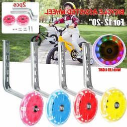 """12-20"""" Universal Bicycle Training Wheels Children Kid Bike S"""