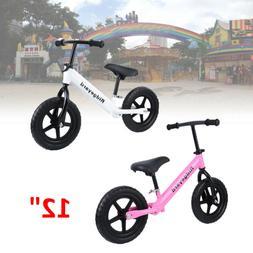 "Ridgeyard 12"" Balance Bike Classic Kids No-Pedal Learn To Ri"