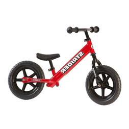 Strider 12 Classic No-Pedal Balance Bike Red