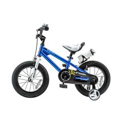 "12"" Freestyle Kids Bike Boy's Girl's Bikes BMX Bicycle W Tra"