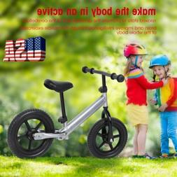 12 inch Wheel Carbon Steel Kids Balance Bicycle Children No-