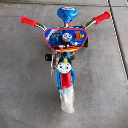 "Dynacraft 12"" Kids Bike Thomas and Friends Blue With Trainin"