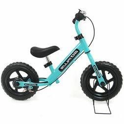 "12"" Navy Kids Balance Bike Children Boys & Girls with Brakes"