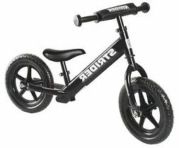 Strider 12 Sport No-Pedal Balance Bike - Black