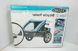 Instep 12-QE127 Compact Double Seated Kids Tow Behind Bike T