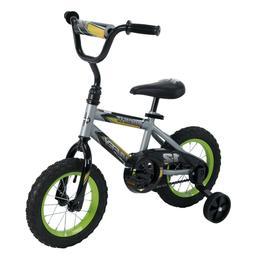"Huffy 12"" Rock It Boys' EZ Build Bike, Silver"