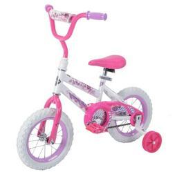 "Huffy 12"" Sea Star Girls' Bike Pink Child Tot Training Wheel"