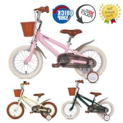 Phoenix 14 16 18 Inch Kids Bike With Training Wheels For Age