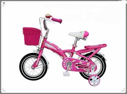 """14""""High quality 3-4 years old girls' children's bike bicycle"""