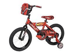 "16"" DisneyPixar Cars Boys' Bike by Huffy, Ages 4-6, Rider"