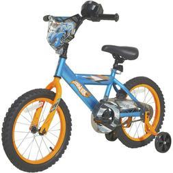 "16"" Boys Hot Wheels Kids Bike Rear Coaster Brake Removable T"