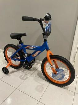 16 boys hot wheels kids bike rear
