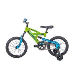 "Huffy 16"" DS 1600 Kids EZ Build Dual Suspension Bike for B"