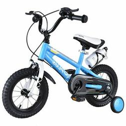 "16"" Freestyle Kids Bike Bicycle Children Boys & Girls w Trai"
