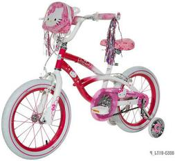 Kids Bike 16 in. Girls Hello Kitty Solid Steel Frame With Tr