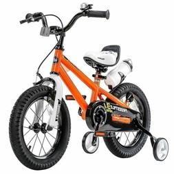 16 Inch Freestyle Kid's Bike for Boys & Girls with Trai