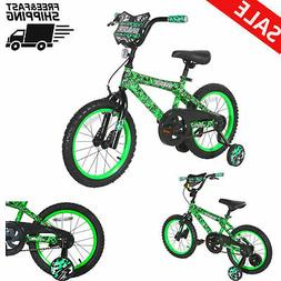 16 Inch Kids Bike Bicycle with Training Wheels Single Speed
