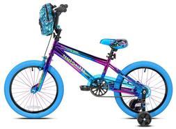 "16"" Kids Bike Bicycle Boys Girls with Training Wheels Coaste"
