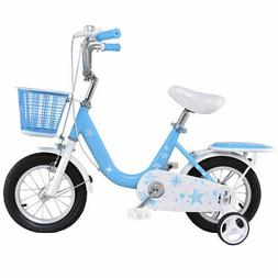 "12"" Kids Bike Bicycle Children Boys & Girls with Training Wh"