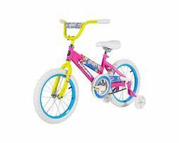 """16"""" Magna Girls Firefly Bike with Handlebar Pad and Adjustab"""