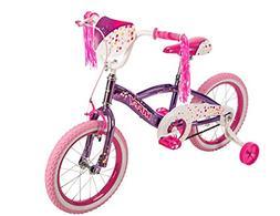 """16"""" Huffy N'Style Girls' Bike, Pink/Purple"""
