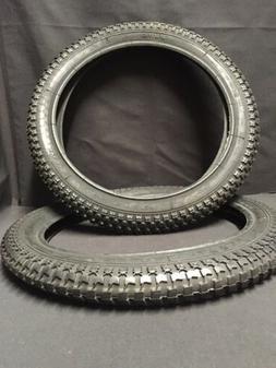 Duro 16x2.125 Pit BMX Snake Belly tire Set fit: Dyno Gt Hutc