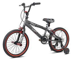 18 Inch Kent Abyss Boy's Freestyle BMX Bike Charcoal Gray *