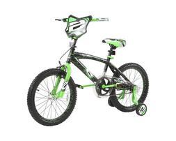18 Inch Training Wheels Bike Sports Gifts Black Green Dynacr