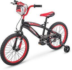 Huffy 18' Motox Boys Bike, Gloss Black