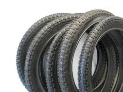"18 x 2.125 /"" Bike Tire Child/'s Bicycle BMX Tread Black Fits All 18 inch NEW"