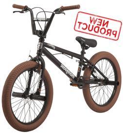 "20"" Boys BMX Bike Freestyle Kids Bicycle Pegs Park Riding Ki"