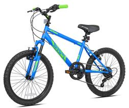 """BCA 20"""" Boys', Crossfire Bike, Blue, For Ages 8-12"""