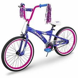 Huffy Kids Bike for Girls, Go Girl 20 inch Pink & Purple