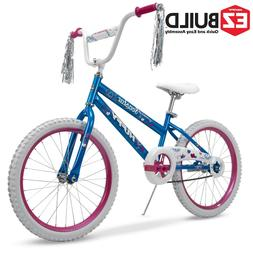 Huffy 20-Inch Sea Star Girl Bike Coaster Brake Blue And Pink