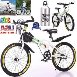"""20"""" Kids Mountain Bike Boys Bicycle MTB Wheels Linear Brakes"""