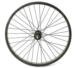 "20"" Kids Youth BMX Bike Front Wheel 3/8"" Aluminum Alloy Blac"