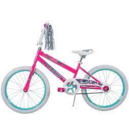 "Huffy 20"" Sea Star Girls' Bike, Pink - Bikes for Girls Kids"