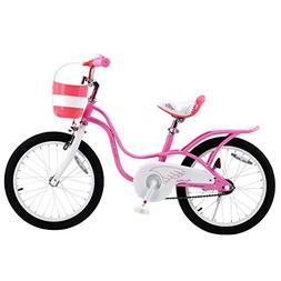 Royalbaby Little Swan Elegant Girl's Bike, 18 inch Wheels, P