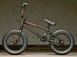 "2020 Kink Pump Matte Guinness Black 14"" Complete Kids BMX Bi"