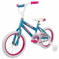 Huffy 16 Inch So Sweet Girls Bike with Training Wheels for A