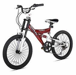 """KENT BICYCLES 32028 20"""" Super 20 Boys Dual Suspens"""
