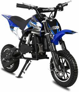 49CC 2-Stroke Kids Off-Road Dirt Bike Gas Powered Motorcycle