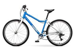 "woom 5 Pedal Bike 24"", 8-Speed, Ages 7 to 11 Years, Blue"